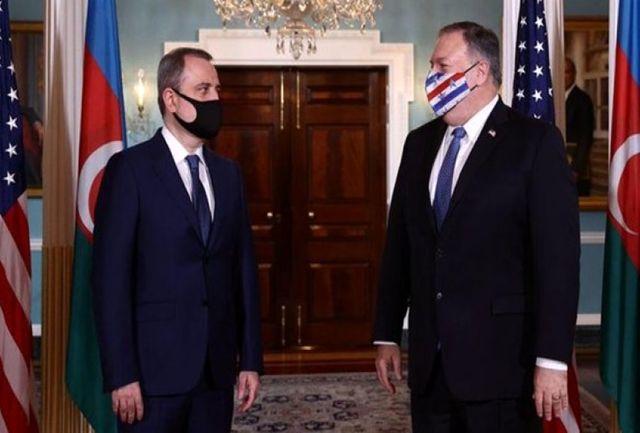 وزیر خارجه آمریکا با همتایان ارمنستانی و آذربایجانی خود دیدار کرد
