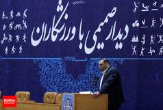 صحبتهای بهداد سلیمی در ضیافت افطاری رئیس جمهور/ ببینید