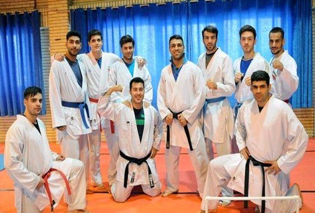 دورخیز کاراته کاهای قزوینی برای مدال جهانی اسپانیا
