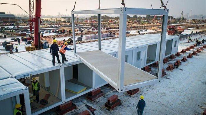 بیمارستان ویژه کرونا با کمک های مردمی در بغداد ساخته می شود