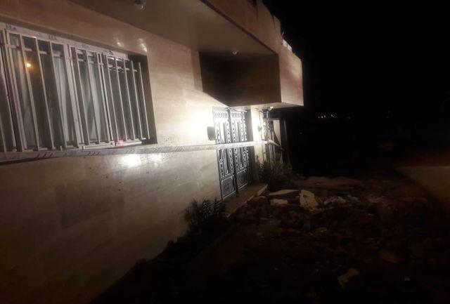تصاویری از خانههای تخریب شده در روستای جشنی آباد کردستان