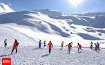 راگبی در پیست اسکی دیزین