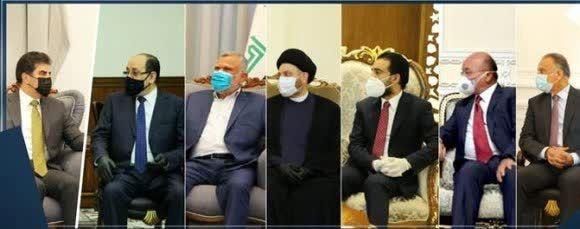 سفر هیات های کردستان عراق به بغداد