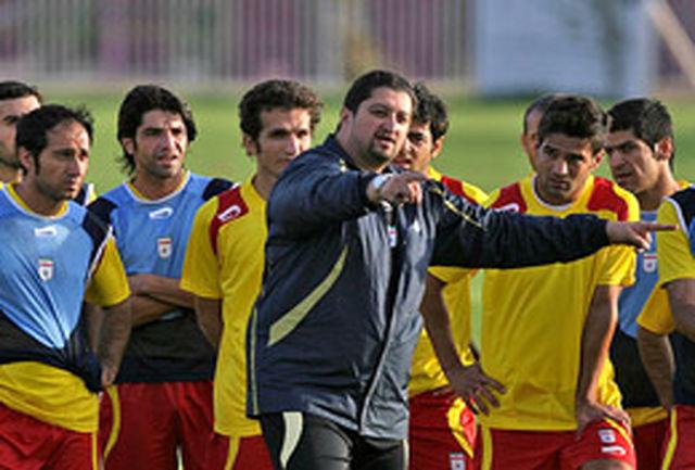 افاضلی مربی تیم فوتبال امید ایران شد