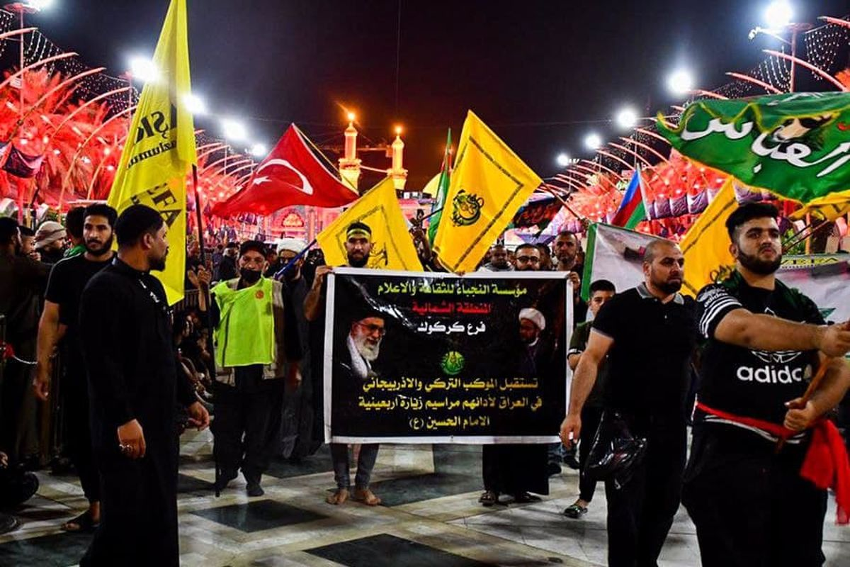 سفر کاروانهای اربعینی ترکیه و آذربایجان به عراق زیر چتر حمایتی و امنیتی نُجَباء برگزار شد
