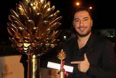 جایزه بهترین بازیگر مرد جشنواره بینالمللی فیلم سلیمانیه عراق به بازیگر ایلامی تعلق گرفت