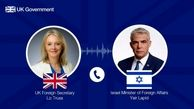 وزیر خارجه انگلیس باهمتای صهیونیست خود گفتوگو کرد