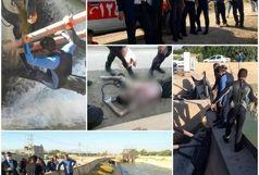حریق انباری منزل مسکونی خیابان حجتیه/ جسد جوان ۱۸ ساله ای که در کانال فولادشهر غرق شده بود پیدا شد