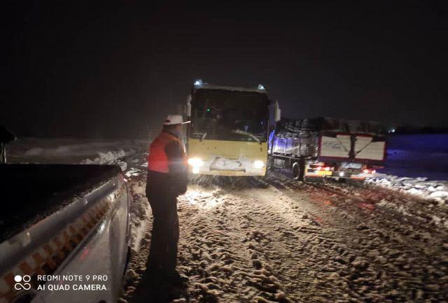 بازگشایی راه ۲۵۰ روستای مسدود شده بر اثر بارش سنگین برف در آذربایجانغربی