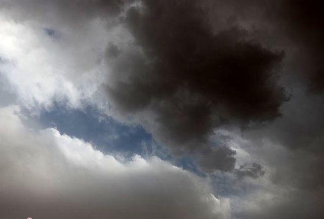 سامانه بارشی وارد استان قزوین شد