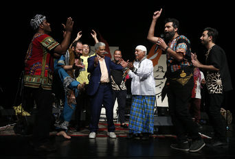 کنسرت  موسیقی جنوب ایران - جشنواره موسیقی فجر