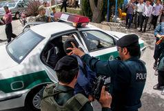 تعقیب و گریز وحشتناک پلیس و سارق خودرو در خیابان های تهران + فیلم