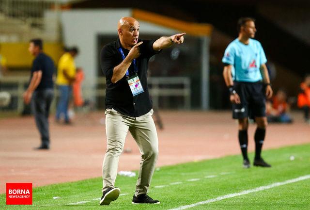 منصوریان: باید نصف انرژیام را بگذارم تا به بازیکنانم بگویم شعارها را نشنوند/ برخلاف جریان بازی گل خوردیم