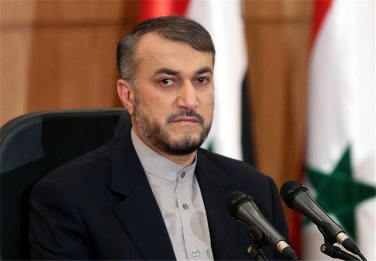 پیام حجت الاسلام اژه ای به ایرانیان مقیم آمریکا توسط امیرعبداللهیان / هیچ مانعی برای تردد آسان وجود ندارد