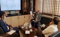 جلسه رییس فدراسیون با معاون فنی شرکت توسعه و نگهداری اماکن ورزشی