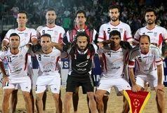 سه گانه تاریخی تیم ملی فوتبال ساحلی ایران