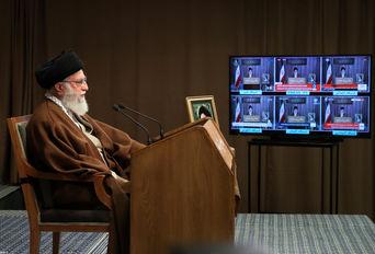 پخش زنده سخنان رهبر انقلاب بهمناسبت روز قدس