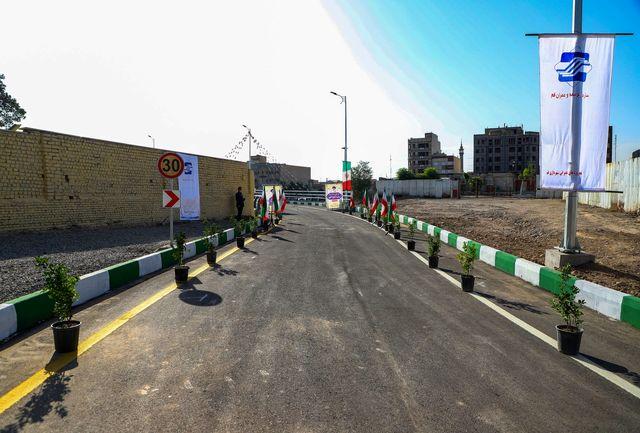 احداث آخرین رمپ مجموعه پلهای ۹ دی به طول ۲۴۹ متر /تکمیل اتصال خیابان امام رضا(ع) به بلوار جمهوری