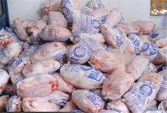 6 تن مرغ گرم قاچاق در توقیف پلیس بندر خمیر
