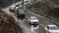 بارش برف و باران در جادههای 11 استان کشور