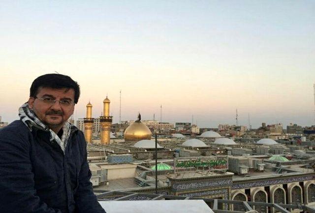 احمدی در مراسم پیاده روی اربعین حسینی حضور یافت