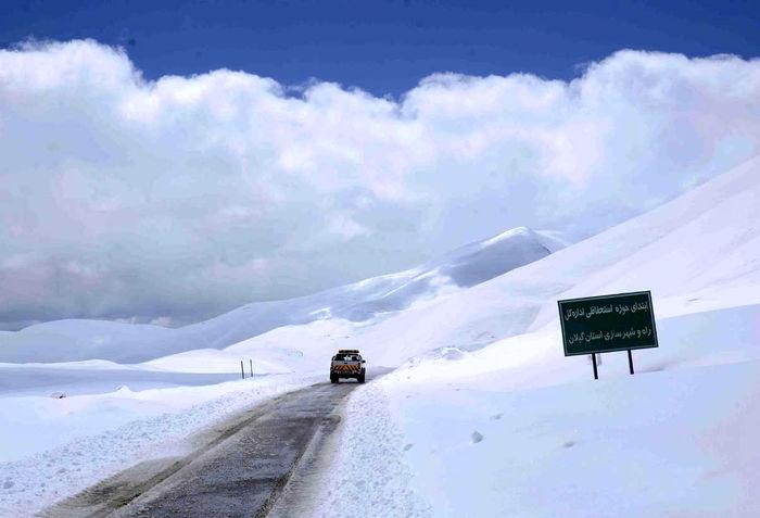 هشدار  درباره بارش برف در محورهای شمال و شمال غربی کشور
