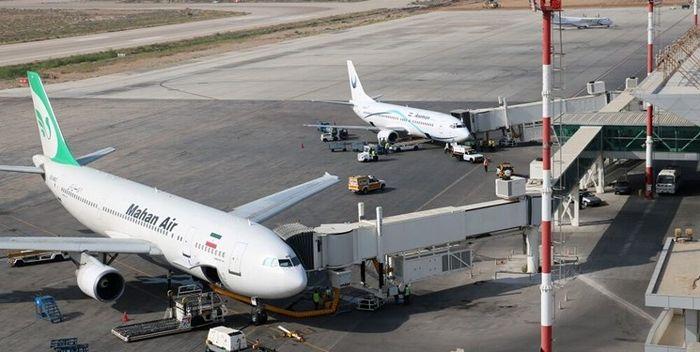فرود اضطراری هواپیما در شیراز