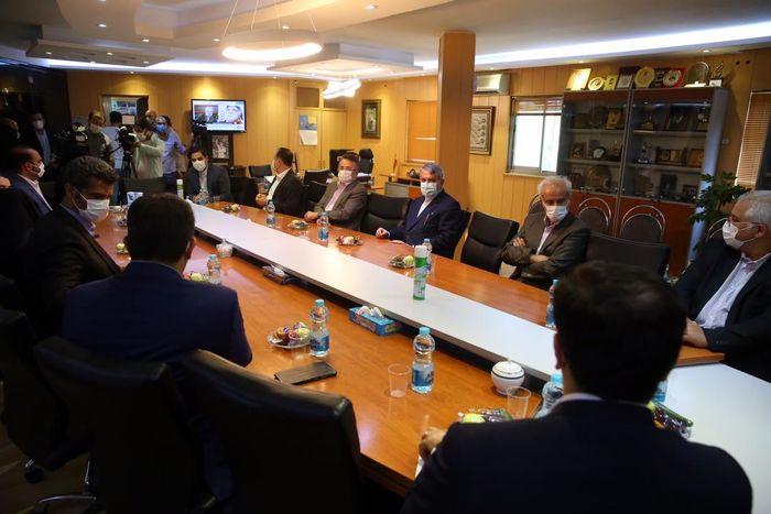مسئولین کمیته ملی المپیک از فدراسیون والیبال بازدید کردند