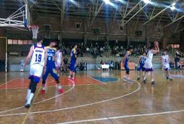 اعلام برنامه مسابقات بسکتبال لیگ دسته یک کشور