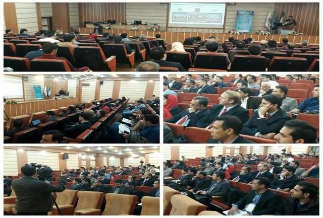 آیین افتتاحیه چهارمین کنفرانس ملی صنعت سیمان برگزار شد