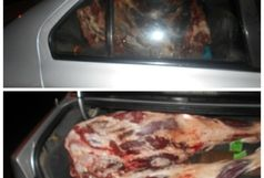 کشف 400 کیلو گوشت غیربهداشتی