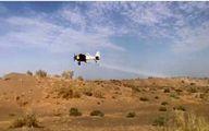 پرواز هواپیمای سمپاش برای نابودی ملخ صحرایی مهاجر در ایرانشهر