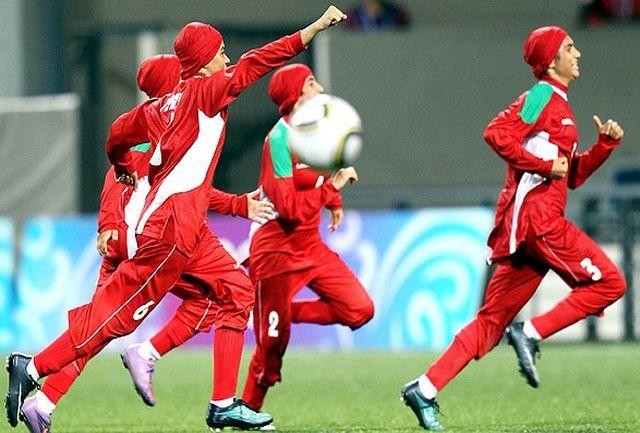پیروزی پرگل بانوان فوتبالیست ایران در مسابقات انتخابی المپیک
