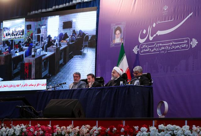 افتتاح و آغاز عملیات اجرایی ۴۶ پروژه در استان سمنان