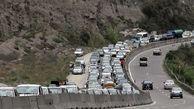 کندوان مسدود است/ اتوبان تهران-کرج شلوغترین جاده کشور