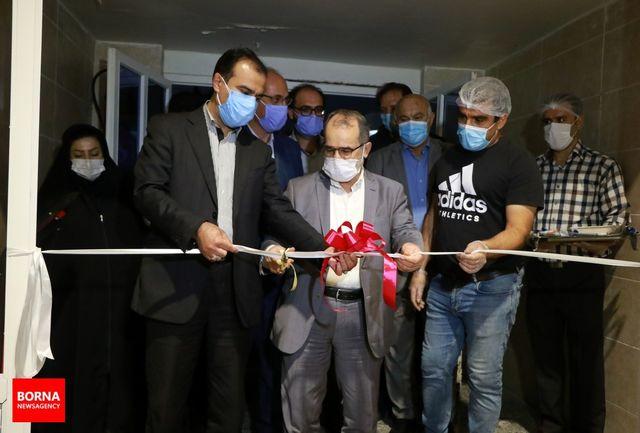 نخستین واحد تولیدی نان صنعتی در منطقه آزاد اروند به بهره برداری رسید