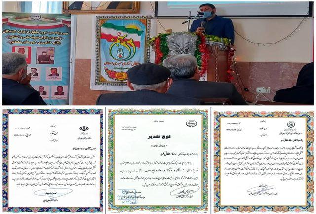 کشت و صنعت پگاه سلماس تولید کننده برتر استان