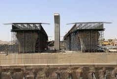 پل اصلی تقاطع ولیعصر بهار ۹۸ افتتاح میشود