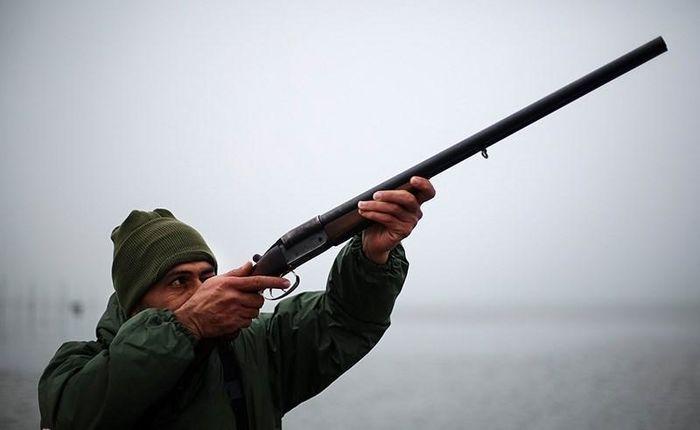 گرفتار شدن شکارچی غیرمجاز در دام پلیس قیروکارزین