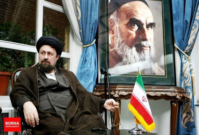 تسلیت سید حسن خمینی در پی درگذشت مادر شهیدان شاه حسینی