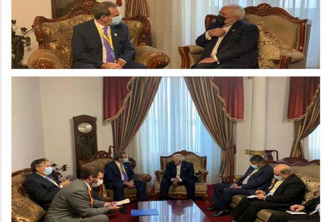 ظریف با وزیر خارجه شیلی دیدار و گفتگو کرد