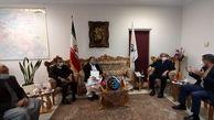 مسئول کریکت افغانستان با مدیر کل امور بین الملل وزارت ورزش و جوانان دیدار کرد/ ببینید