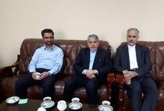 دیدار صالحیامیری با سفیر ایران در قزاقستان