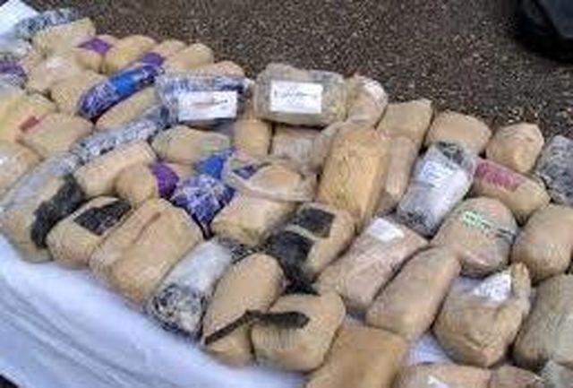 کشف یک تن و ۲۲۱ کیلو گرم مواد مخدر در درگیری با قاچاقچیان مسلح