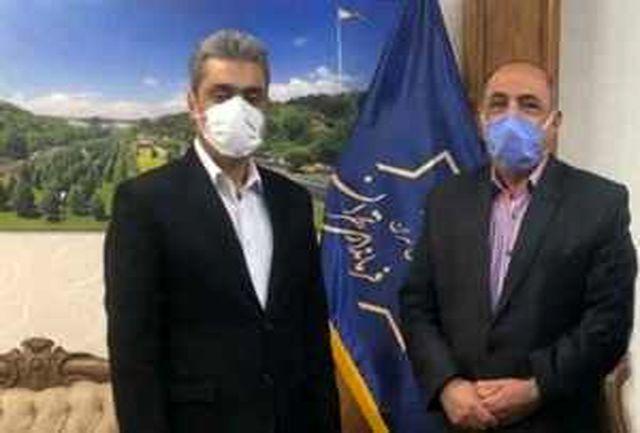 جلسه هماهنگی سایپا - پرسپولیس با فرماندار تهران