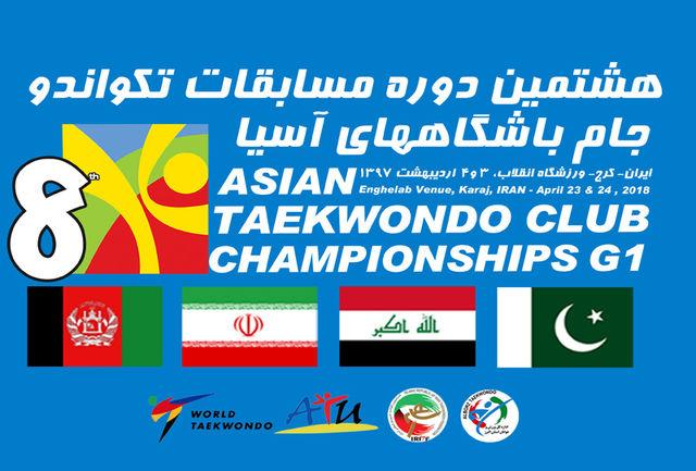 تیمهای حاضر در مسابقات جام باشگاههای آسیا مشخص شدند