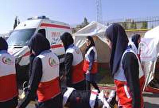 مانور آمادگی در حوادث چهارشنبه آخر سال در مدارس سمنان