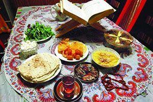 آیین و رسوم مردم همدان در ماه رمضان