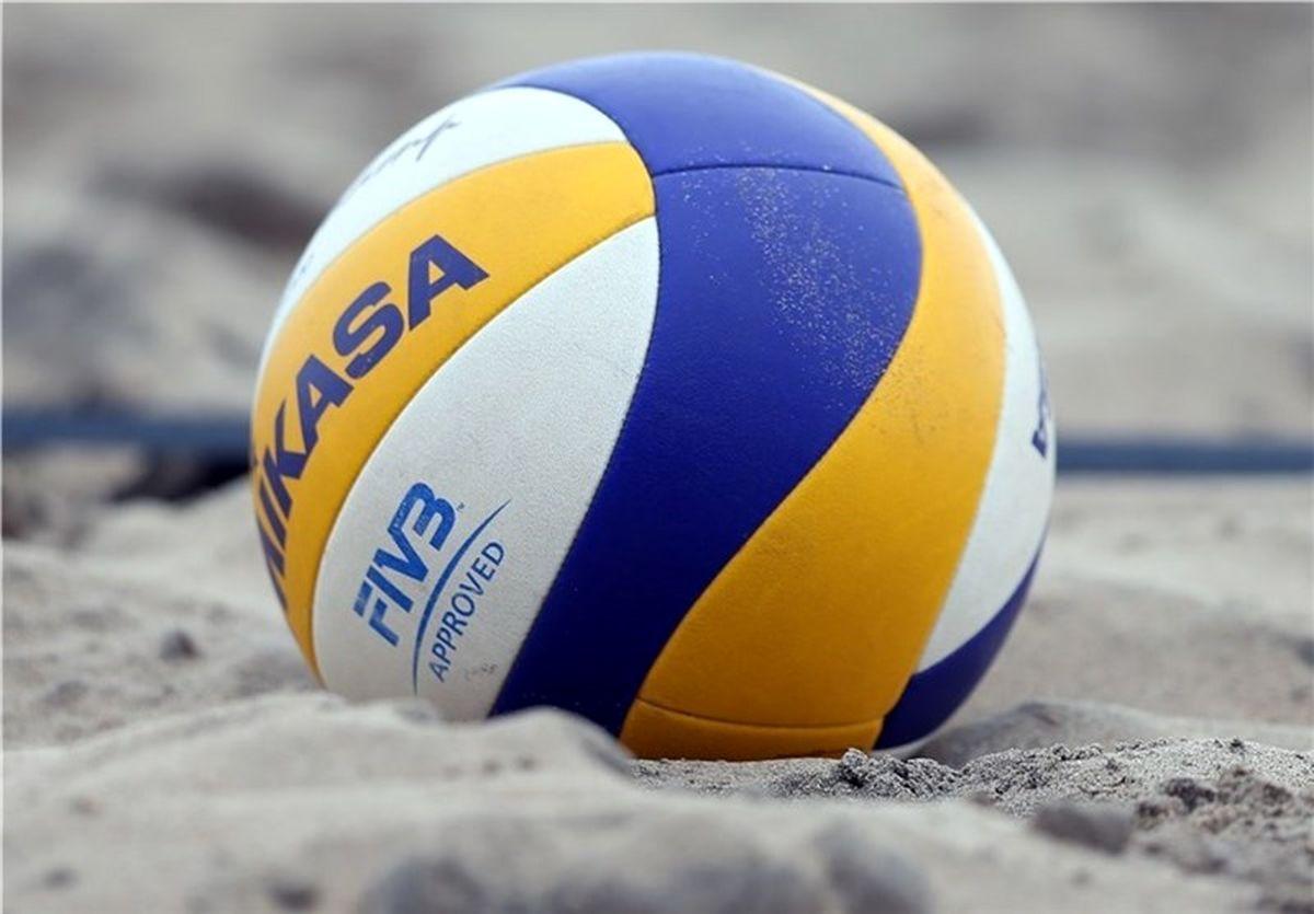 نحوه برگزاری مسابقات والیبال ساحلی قهرمانی زیر 19 و 21 سال جهان اعلام شد