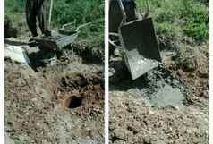 پر و مسلوب شدن ۸ حلقه چاه غیر مجازی در خرم آباد